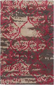 artistic weavers pacific awpc 2289 holly brown burgundy rug