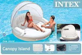 Intex Inflatable Pool Intex Canopy Island 78