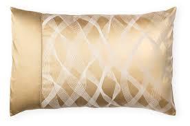 rubans gold luxury silk cotton bed linen gingerlily