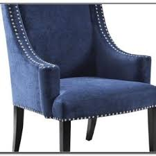 Blue And White Accent Chair Navy And White Striped Accent Chair Chairs Home Design Ideas