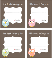 free bookplate label template free printable labels u0026 templates