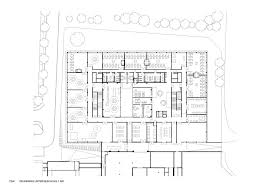 rehabilitation center floor plan gallery of center for technology and design in st pölten