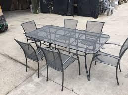 Mesh Patio Table by Mesh Garden Furniture Champsbahrain Com