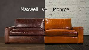 Leather Sofa Restoration Restoration Hardware Maxwell Leather Sofa Review Catosfera Net