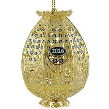 trellis egg ornament 2016 chemart ornaments solid brass ornament