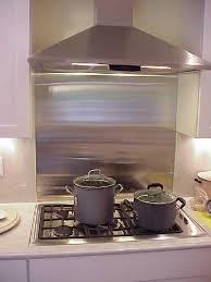 stainless kitchen backsplash backsplash ideas astonishing stainless steel backsplash sheets