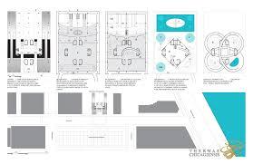 Juice Bar Floor Plan Civic Bathhouse B4and
