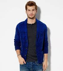 ae ombre shawl cardigan cashmere sweater england