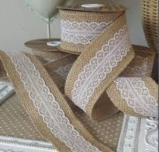 burlap and lace ribbon aliexpress buy 5pcs 1m jute burlap hessian ribbon