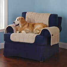 Pet Covers For Sofa by The Non Slip Furniture Protecting Pet Covers Hammacher Schlemmer