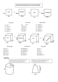 converting between metric units worksheet worksheets