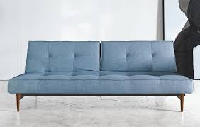 light blue sofa bed cordial innovation splitback mixed dance light blue sofa bed wood