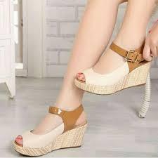 Jual Wedges jual sandal wedges sdw215 belanja mudah dan aman belanja mudah