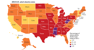 map tracks obesity in the united states science