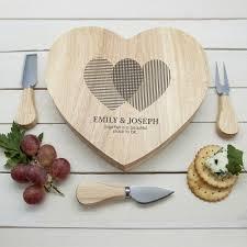 cheese board engraved heart venn diagram heart cheese board