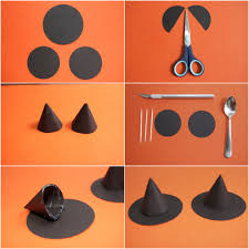make a halloween cake tutorial little witch hats witches tutorials and craft