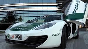 police mclaren mclaren mp4 12c patrol car hits the streets in dubai videos