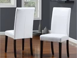 Chairs Astounding White Leather Dining Chairs Whiteleather - White leather dining room set