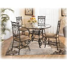 Ashley Furniture Glass Coffee Table D312 225 Ashley Furniture Bianca Round Glass Dining Table
