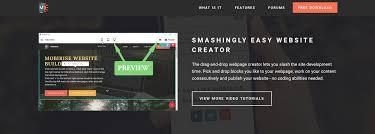 mobile resume builder simple responsive web page builder software best mobile web page builder review