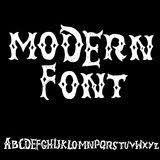 vintage grunge western alphabet stock vector image 23606083