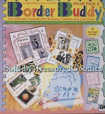 border buddy value pack 2 ek success scrapbooking 3 templates kit