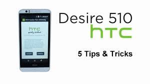 Htc Wildfire Check Data Usage by 5 Tips U0026 Tricks Htc Desire 510 Youtube