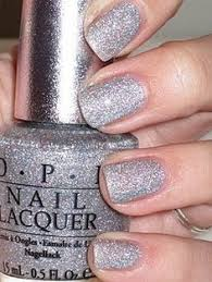 opi glitter ally the best silver ever hair nails and even a