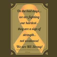 Ms Memes - on the bad days we are fighting our hardest they are a sign