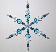 beaded snowflake ornament page is not in but pictures