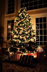 Christmas Livingroom by 30 Pictures Of Decorated Christmas Tree Designs