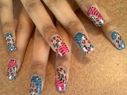 26 cheetah print nails designs nails in pics