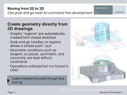 solid edge 2d to 3d design and drafting software