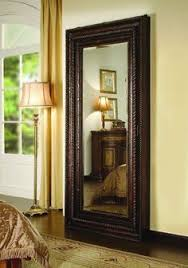 Cheap Shabby Chic Mirrors by Turn A Plain Floor Length Mirror Into A Beautiful Wall Mirror