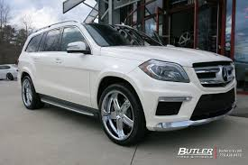 infiniti qx56 vs mercedes gl450 mercedes gl450 with 22in mandrus mannheim wheels butler tire