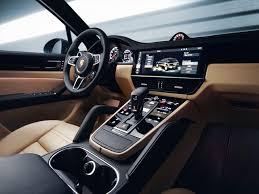 Porsche Cayenne Red Interior - 2019 porsche cayenne redesign hybrid release turbo coupe interior