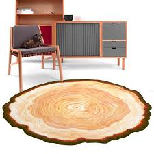 tree ring coffee table design round carpet ancient tree ring mat parlor door floor rug