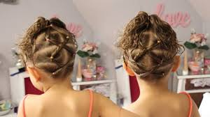 Little Girls Ponytail Hairstyles by Criss Cross Ponytails Hairstyles For Little Girls Youtube