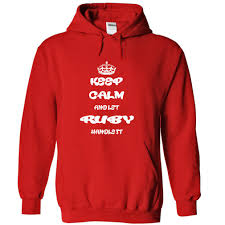 calm and let ruby handle it name hoodie t shirt hoodies