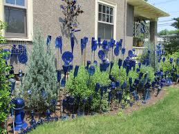 Garden Glass Art Embrace Prohibition Bottle Trees U2013 A New Englander U0027s View