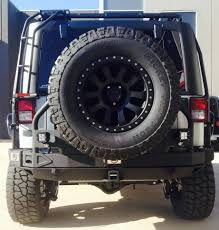 jeep rear bumper with tire carrier smittybilt xrc atlas rear bumper for jeep jk 07 14