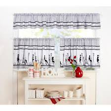 hydrangea kitchen cafe curtains curtain image light gray