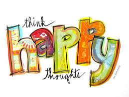 think happy thoughts w 1023 inspirational artwork prints unique