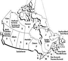 canada post fsa map postal code map