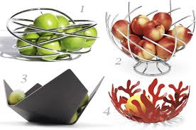 modern fruit holder four modern and airy fruit bowls at home with kim vallee
