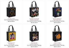 personalized trick or treat bags personalized trick or treat bags 4 99 shipped new ink garden