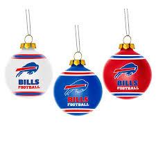 buffalo bills ornaments 3 pack