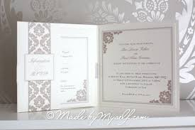 Wedding Invitations Information Ribbon Heart Pocketfold Wedding Invitation Includes Rsvp U0026 Guest