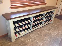 Wine Buffet Table Items Similar To Wine Storage Buffet Table On Etsy