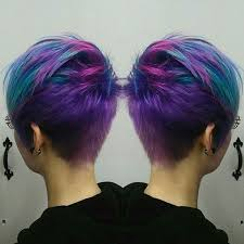 what kind of hair is used for pixie braid best 25 dyed pixie cut ideas on pinterest funky pixie cut hair